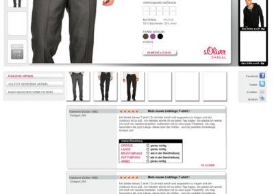Productview s´Oliver - Herren