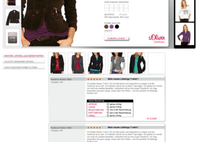 Productview s´Oliver - Damen
