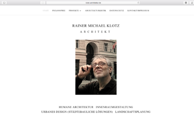 Architekt R. M. Klotz