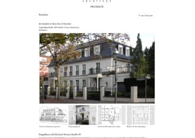 Architekt R M Klotz - Projektansicht