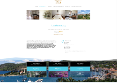 Dilk-apartments-vis.com Detail
