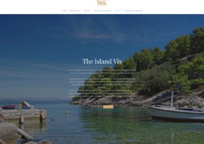 Dilk-Apartments Website